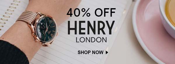 Shop Henry London Watch Sale
