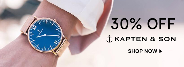 Shop Kapten & Son Watches on Sale