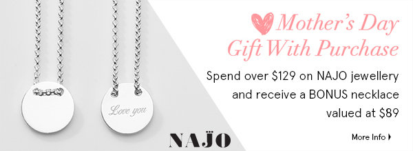 Najo Mothers Day Gift with Purchase